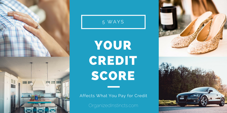 5 Ways Your Credit Score Affects What You Pay for Credit