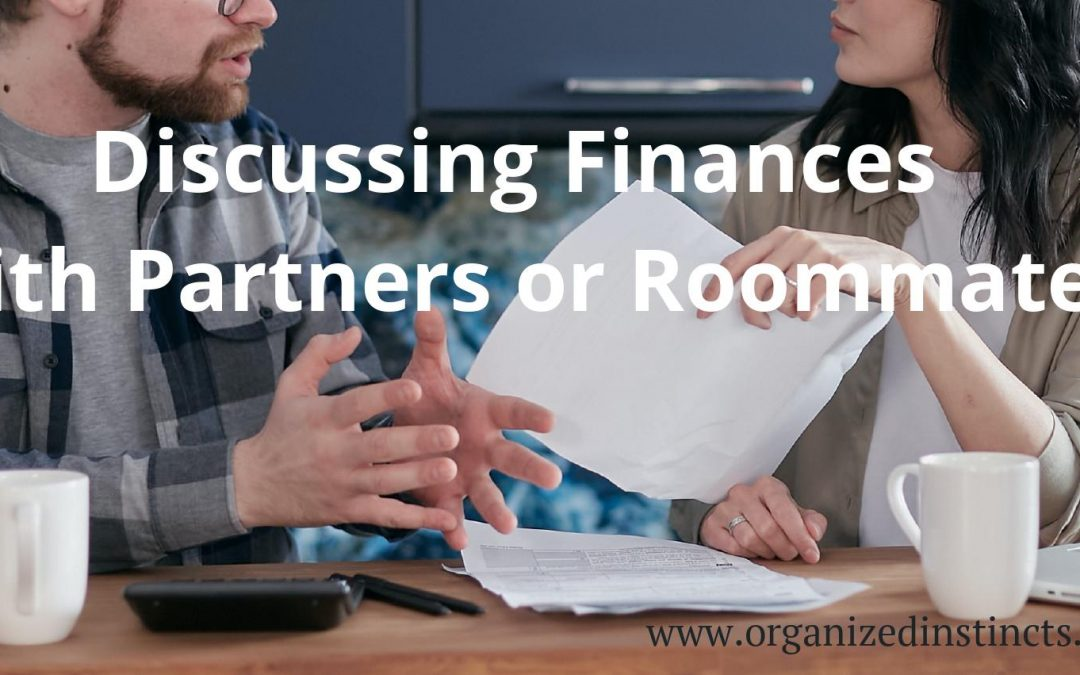 Discussing Finances with Partners or Roommates
